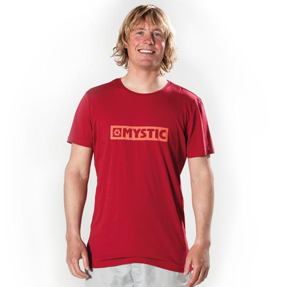 Magnificent - pánské triko Mystic, červené