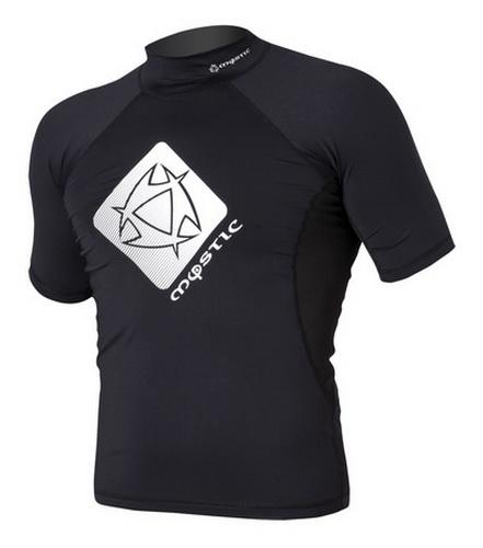 Star Junior - lykrové rashguard tričko Mystic, černé