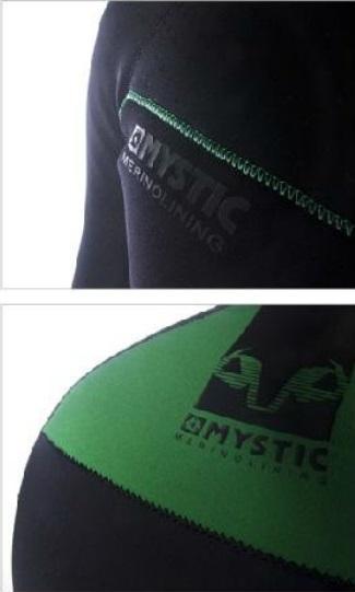 Merino Wool - neoprenové triko Mystic, černé
