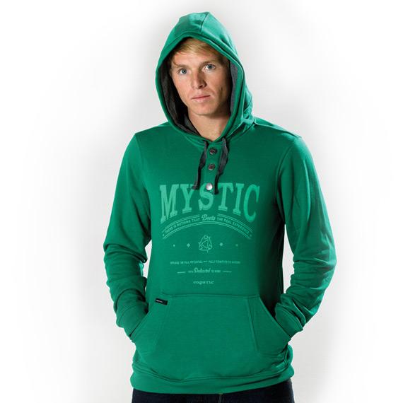 Salt - pánská mikina Mystic, zelená