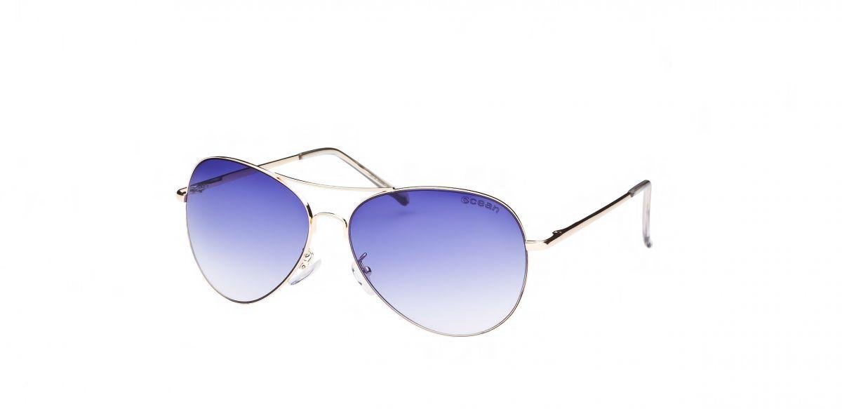brýle Ocean Banila - gold, grad blue