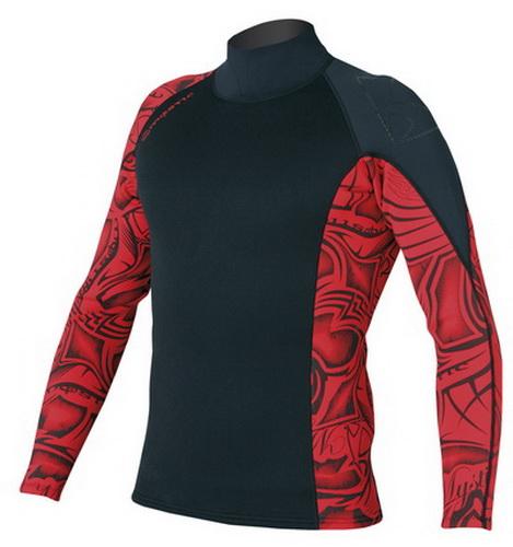 Empire Vest - neoprenové triko Mystic, červená