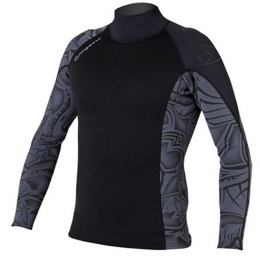 Empire Vest - neoprenové triko Mystic, černé/šedé
