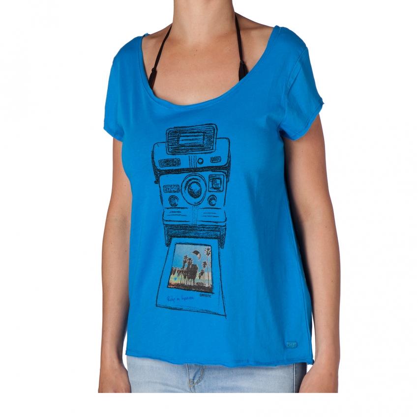 Freeze Frame - dámské triko Mystic, modré