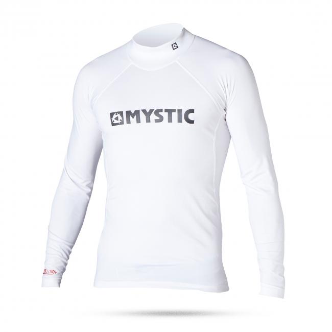 Junior Star Rash - lykrové triko Mystic, bílé