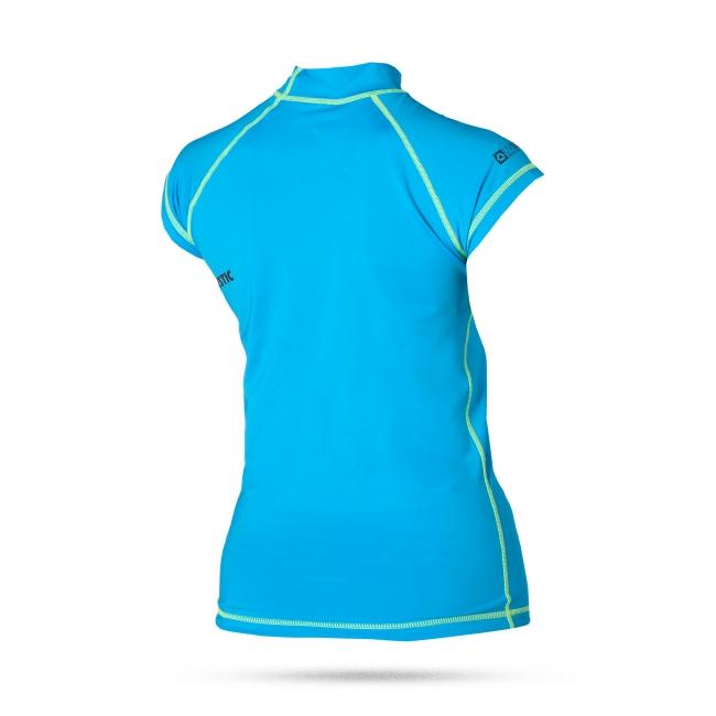 Mendina - dámské lykrové triko, modré