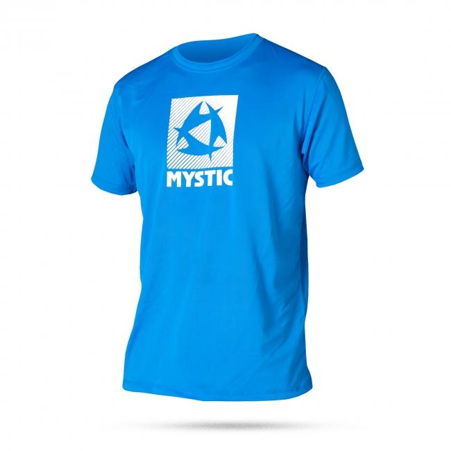 Star Quick Dry shortsleeve - rychloschnoucí triko Mystic, modré
