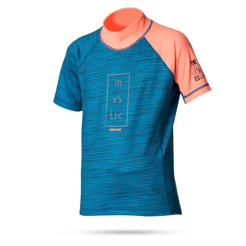 Star Rash Kids - dětské lykrové triko, coral