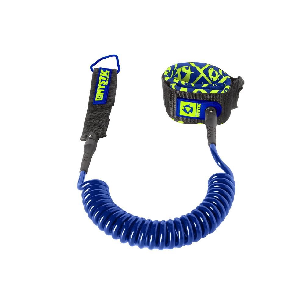 Coiled Leash 10ft - bezpečnostní spirálová šňůra Mystic, modrá
