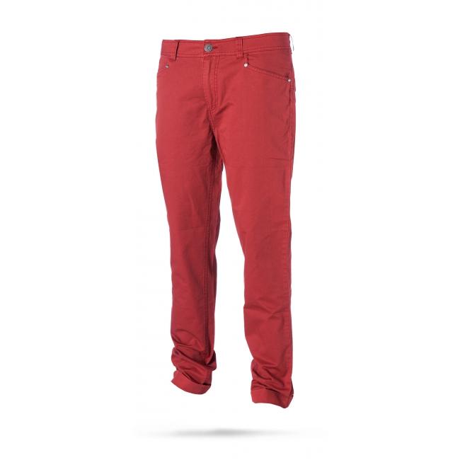 Longrun - pánské kalhoty, červené