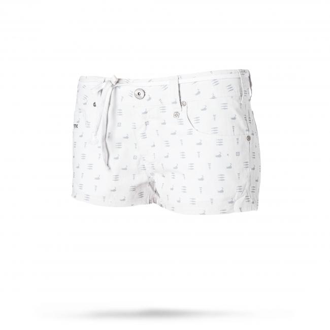 Mic Walkshort - dámské šortky, bílé