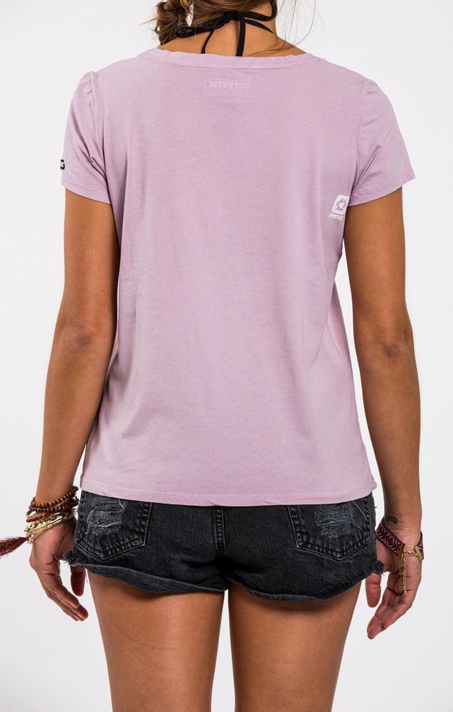 Contagious - dámské tričko, růžové