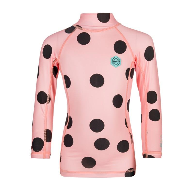 Star Rash Kids - dětské lykrové triko s dlouhým rukávem, Pink