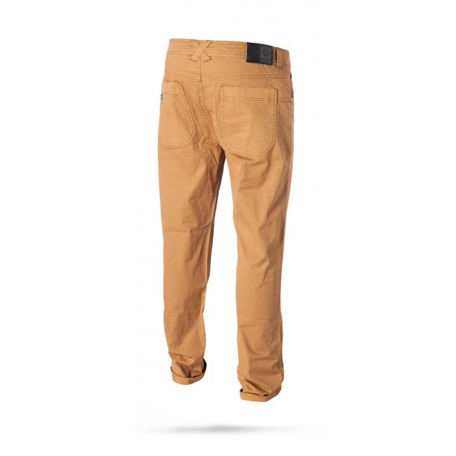Longrun - pánské kalhoty, tmavě žluté