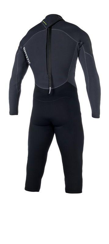 Brand Longarm Shortleg 3/2 mm Backzip - pánský neopren, černý