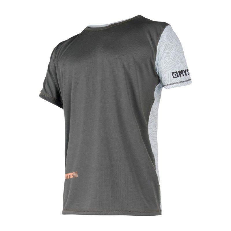 Drip Quickdry - pánské rychloschnoucí triko krátký rukáv, Orange/Grey