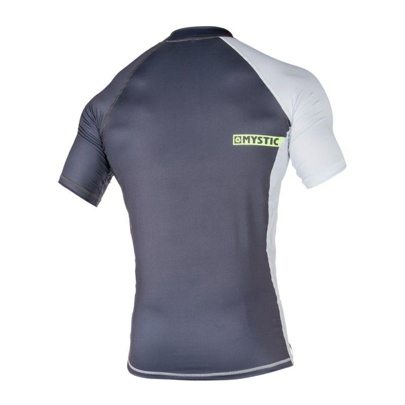 Crossfire Rashvest - lykrové triko krátký rukáv, šedé