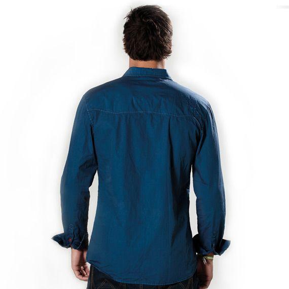 Amplify - pánská košile, Denim Blue