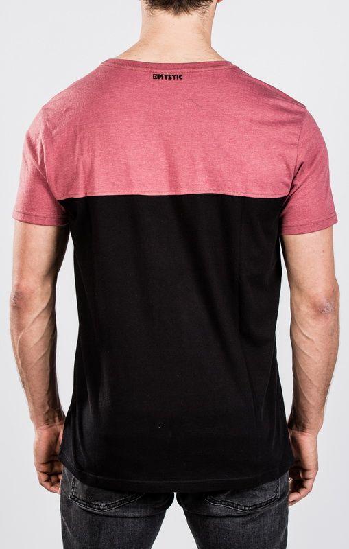 Road Tee - pánské triko, Red Dark Melee