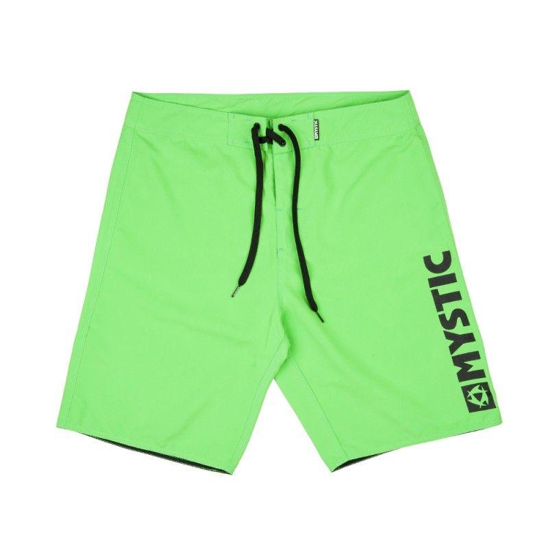 Brand 2.0 - pánské boardšortky, Green Fluor
