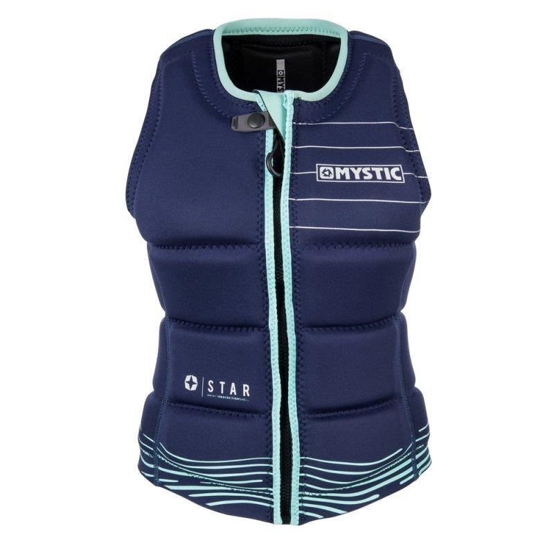 Star Impact Vest Fzip - dámská wakeboardová vesta, Navy
