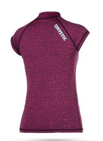 Star Rashvest - dámské lykrové triko krátký rukáv, Pink