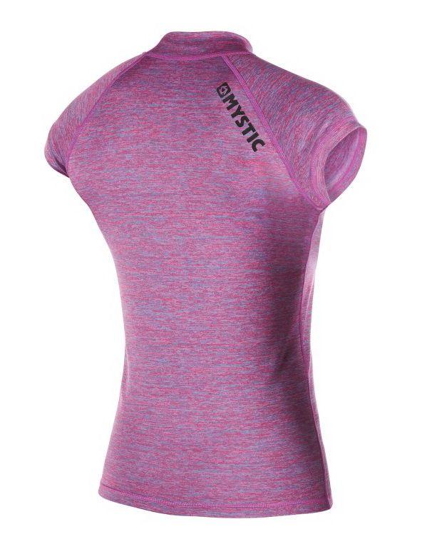 Star Rashvest - dámské lykrové triko krátký rukáv, Pink Melee