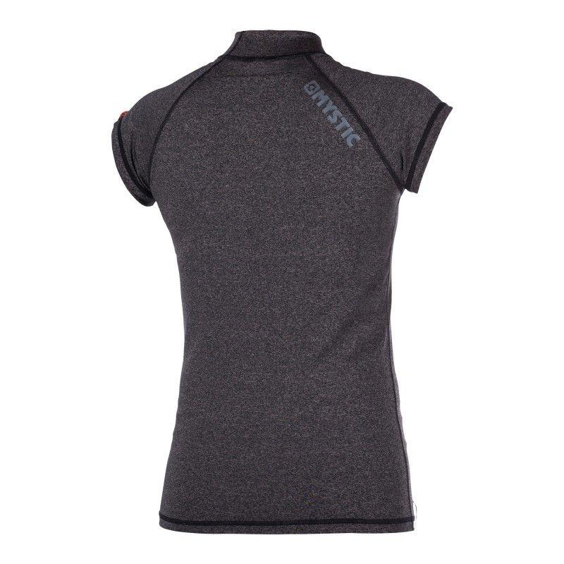 Star Rashvest - dámské lykrové triko krátký rukáv, Black