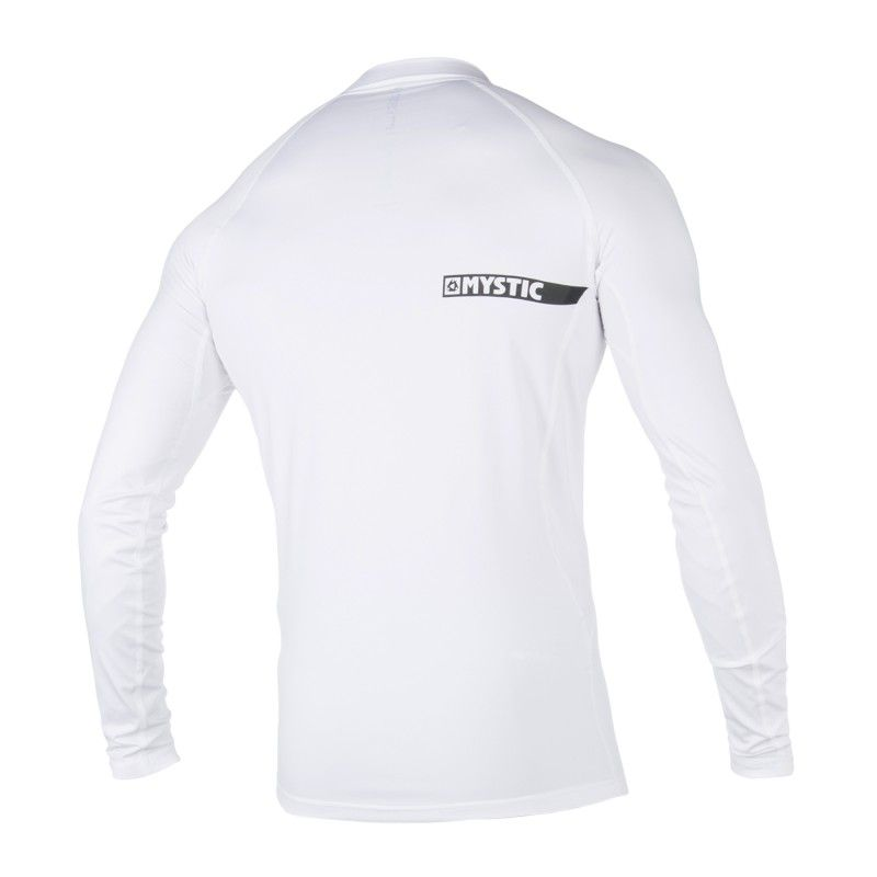 Star Rashvest - pánské lykrové triko dlouhý rukáv, Bílý