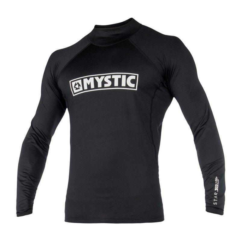 Star Rashvest - pánské lykrové triko dlouhý rukáv, černé