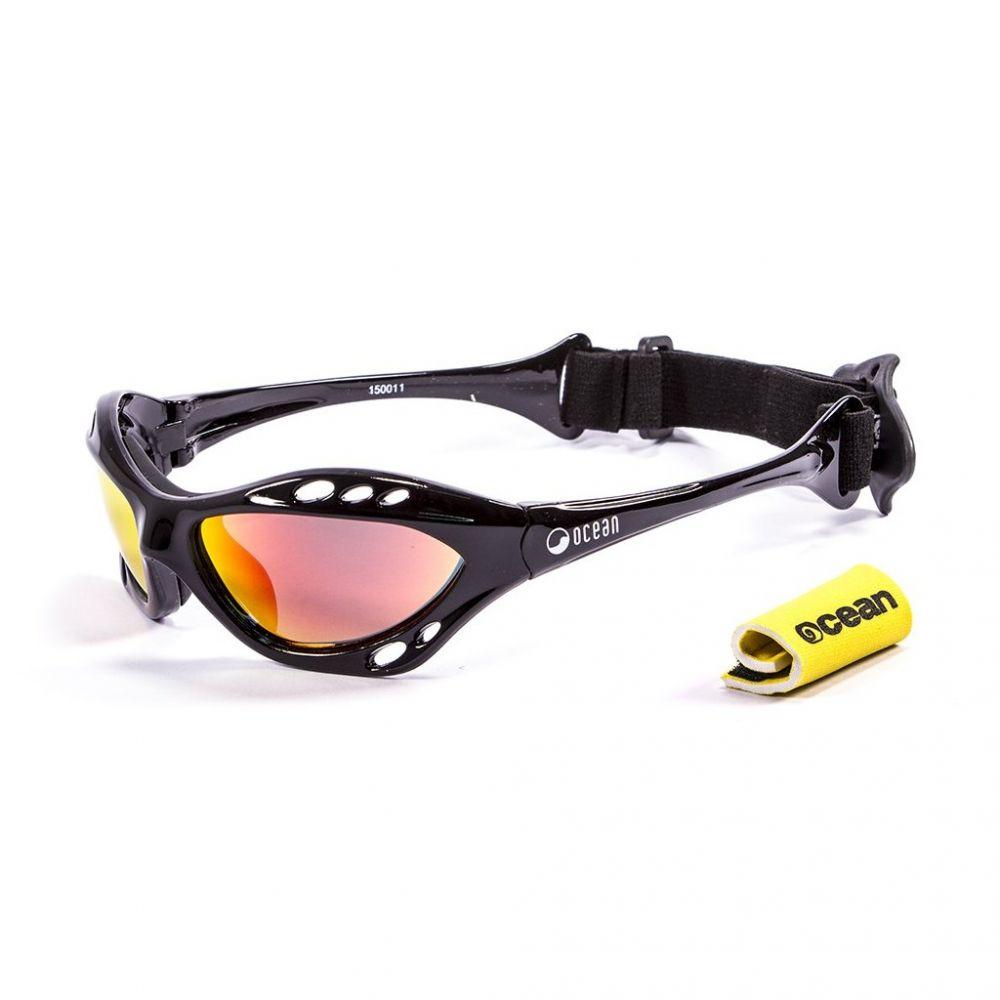 Sportovní brýle na vodu Ocean Cumbuco, Shiny Black + Revo