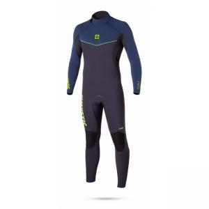 Voltage 5/4 mm Fullsuit Backzip - pánský neopren Mystic, Navy