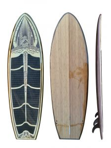 Veneer epoxy sup 9ft2 - custom paddleboard